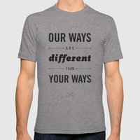 Us And Them: Chief Seatt… Mens Fitted Tee Athletic Grey SMALL