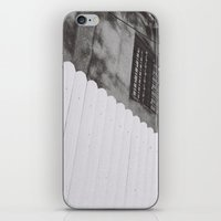diagonal fence iPhone & iPod Skin