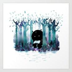A Quiet Spot Art Print