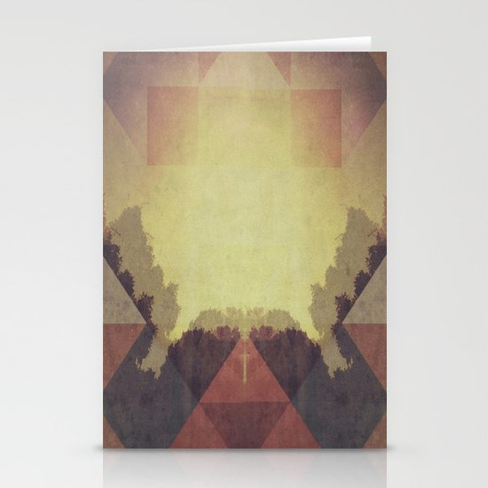The Last Light Stationery Card