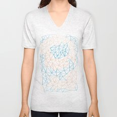 Non-linear Points Unisex V-Neck
