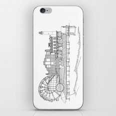 The Jersey Shore by the Downtown Doodler iPhone & iPod Skin