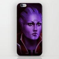 Mass Effect: Aria T'Loak iPhone & iPod Skin