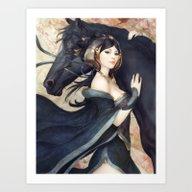 Pepper Empress Art Print