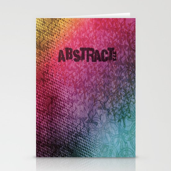 Abstract373 Stationery Card