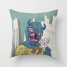 infernal machinery Throw Pillow