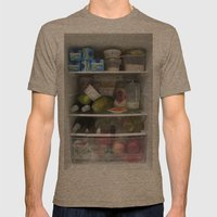 Fridge Candies  2   [REF… Mens Fitted Tee Tri-Coffee SMALL