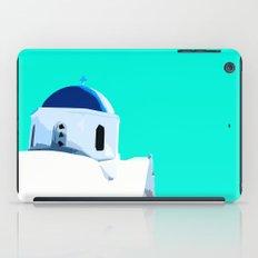 Beautiful Santorini in Greece iPad Case