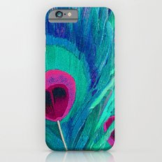 Peacocks Feathers Slim Case iPhone 6s