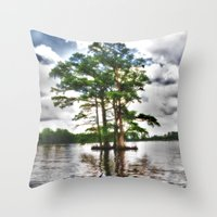 Living Strong Amidst The… Throw Pillow