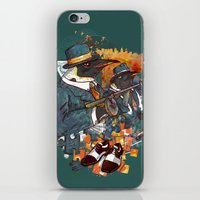 Mobster Puzzle iPhone & iPod Skin