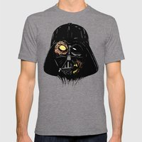 Vader Zombie Mens Fitted Tee Tri-Grey SMALL
