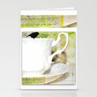 Polly Put the kettle on Stationery Cards
