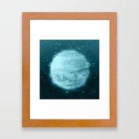 Ice Planet Framed Art Print