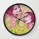 UP AND DOWN FRIENDS Wall Clock