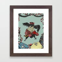 Crow Serie :: Home Angel… Framed Art Print