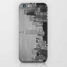 New York City Skyline (Black and White) iPhone 6 Slim Case