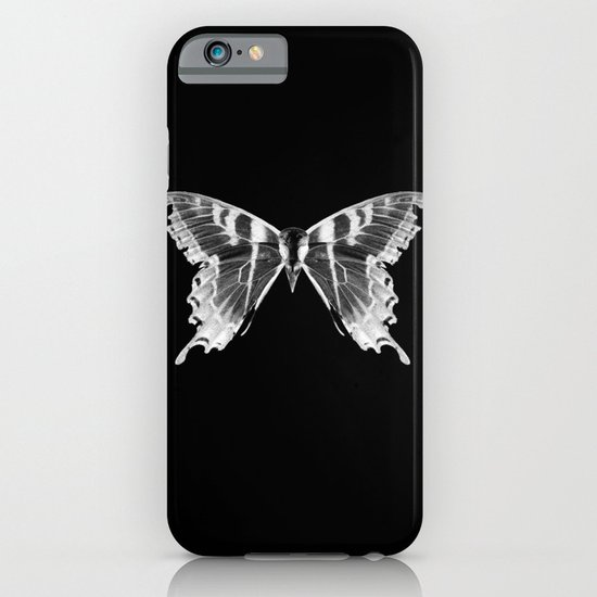 Wings and Skull #5 iPhone & iPod Case