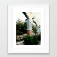 Plaza De Rincon Framed Art Print