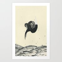 Art Print featuring The Search by Heather Goodwind