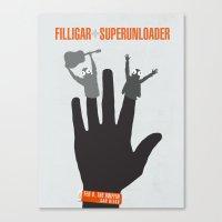 Filligar - Griffin San Diego Canvas Print