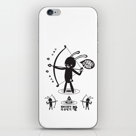 SORRY I MUST LIVE - DUEL 2 VER B ULTIMATE WEAPON ARROW  iPhone & iPod Skin