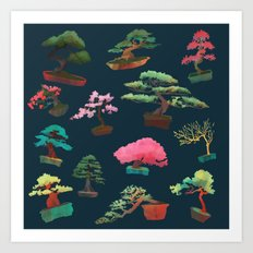 Bonsai Madness Art Print