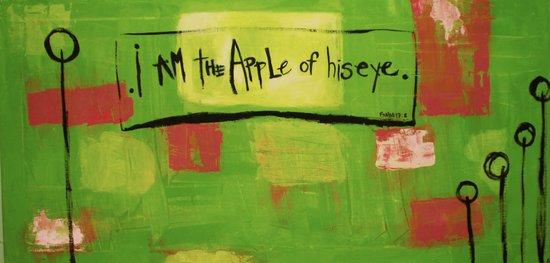 I am the apple of his eye Art Print