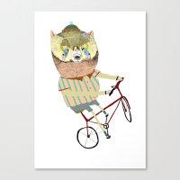 Biking, Bike, Bikes, Bik… Canvas Print