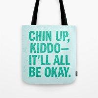 Chin Up Tote Bag