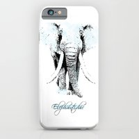 iPhone & iPod Case featuring elephantidae by VALENTINA MAGRO