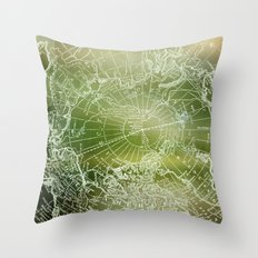 Polar Forest Throw Pillow