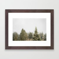 Must Love Snow Framed Art Print