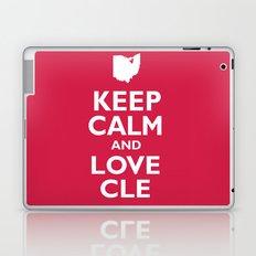 Keep Calm and Love CLE Laptop & iPad Skin