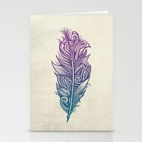 Supreme Plumage Stationery Cards