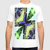ROCKEFELLER Mens Fitted Tee White SMALL