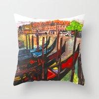 Paradisal Venice Throw Pillow