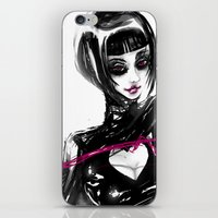 The pink whip iPhone & iPod Skin