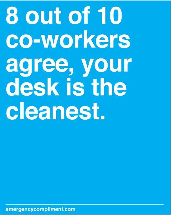 Cleanest Desk Art Print