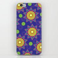 Moroccan Flower Purple iPhone & iPod Skin