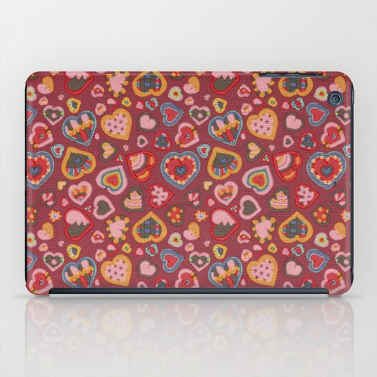 I Heart Patterns iPad Case