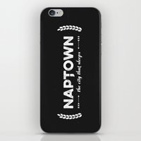 Naptown | the city that sleeps | Indianapolis iPhone & iPod Skin