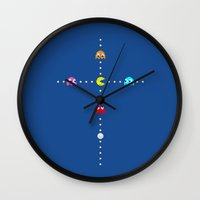 Eat Your Idol Wall Clock