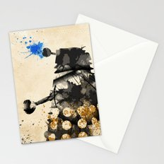 Doctor Who Dalek Rustic Stationery Cards