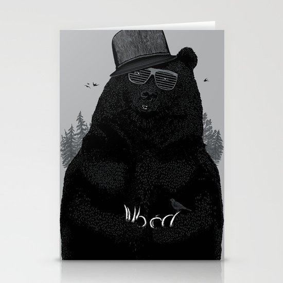 Wood Tang Clan Stationery Card