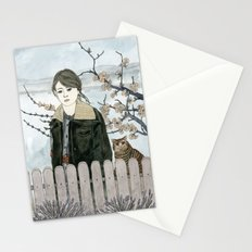 Early Spring Walk Stationery Cards