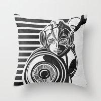 Megaman Geek Line Artly Throw Pillow