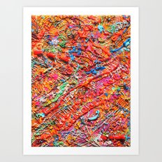 sparingly Art Print
