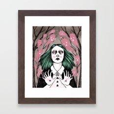 summoning spirits Framed Art Print