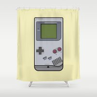 #44 Nintendo Gameboy Shower Curtain
